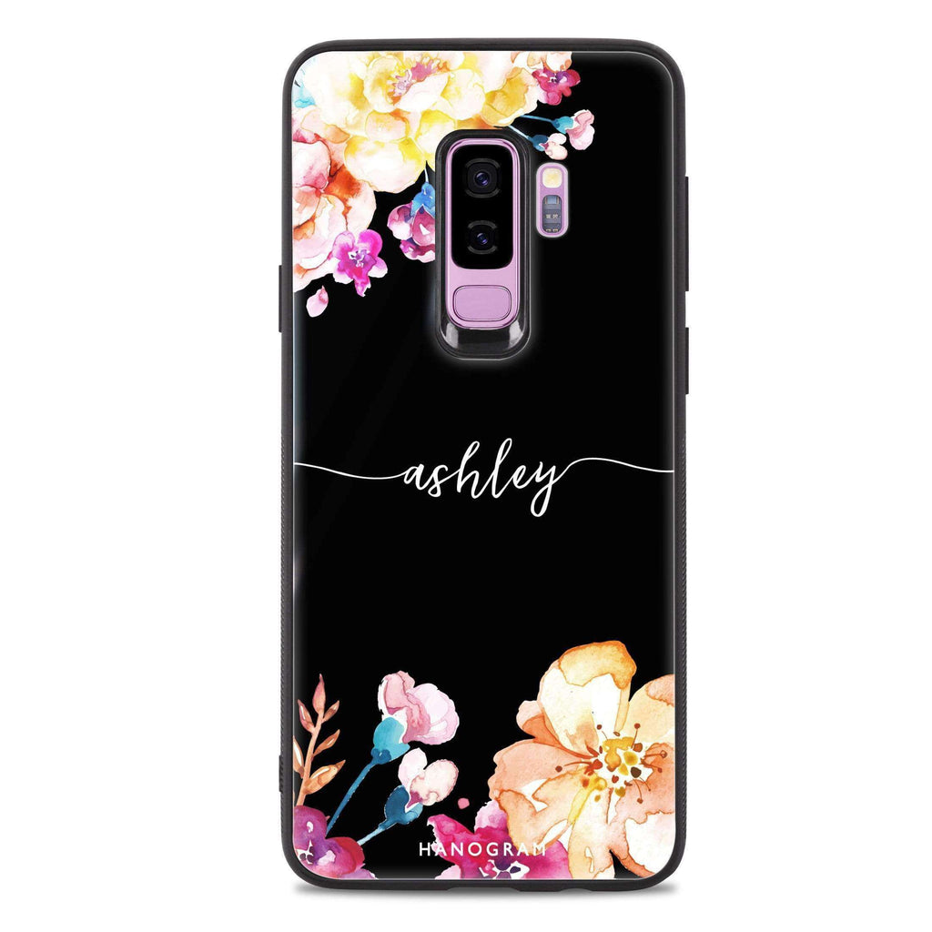 Art of Flowers Samsung S9 Plus Glass Case