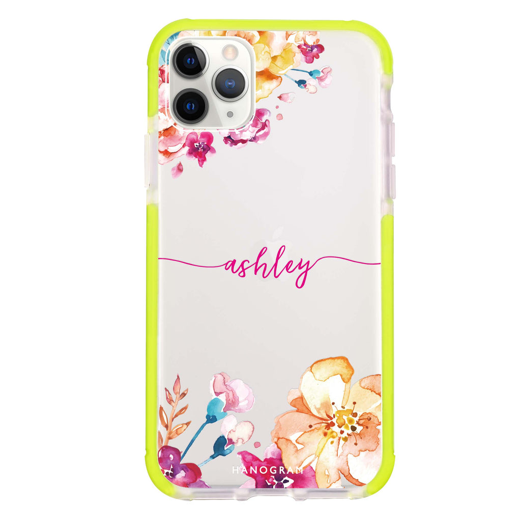 Art of Flowers Shockproof Bumper Case