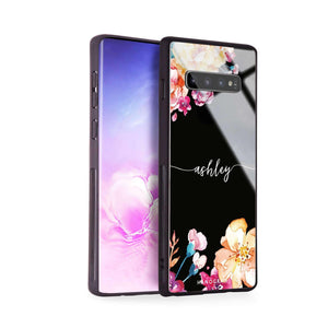 Art of Flowers Samsung S10 Plus Glass Case