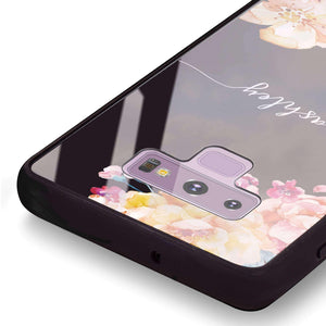 Art of Flowers Samsung Note 9 Glass Case