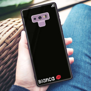 A Kiss Samsung Note 9 Glass Case