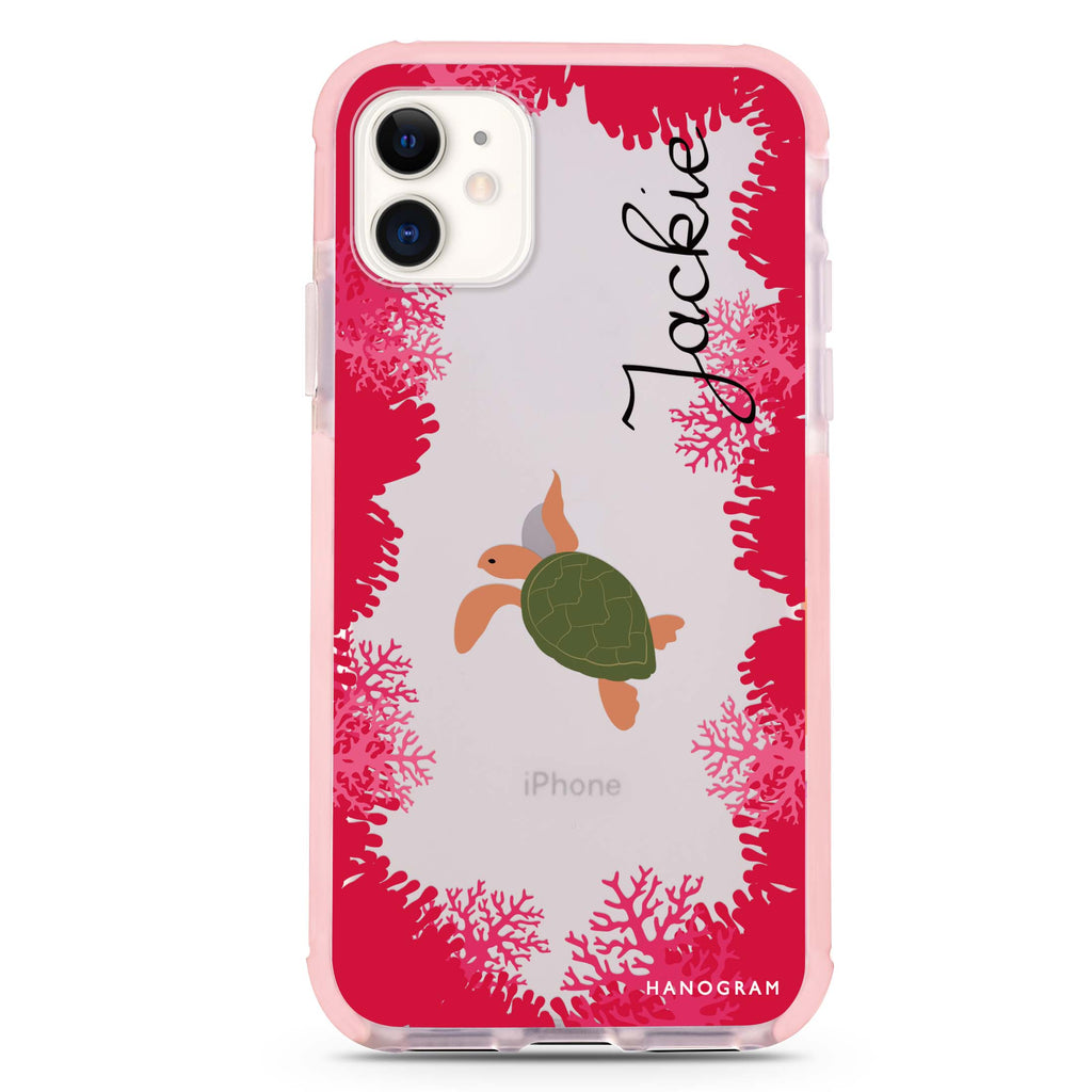 For our sea iPhone 11 Shockproof Bumper Case
