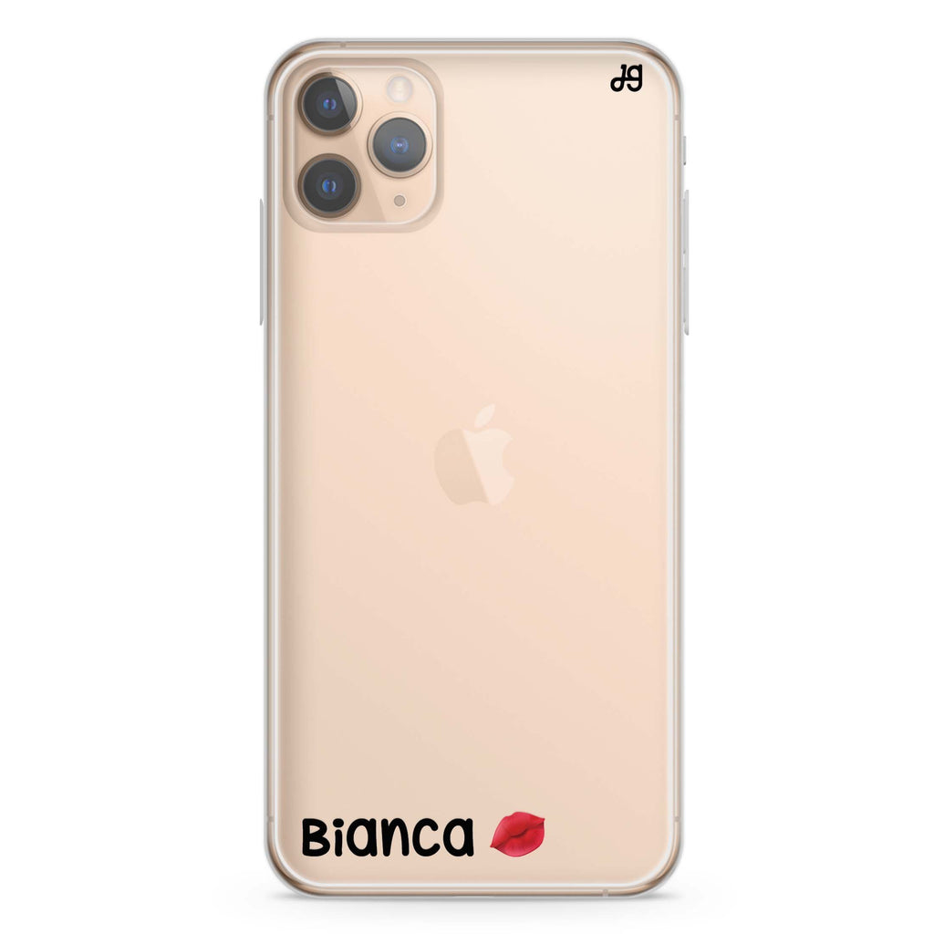 A Kiss iPhone 11 Pro Max Soft Clear Case