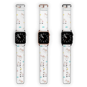 Cute Unicorn APPLE WATCH BANDS