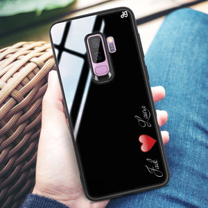 You & Me Samsung S9 Plus Glass Case