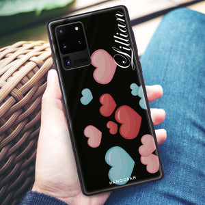 Full Love Samsung Glass Case