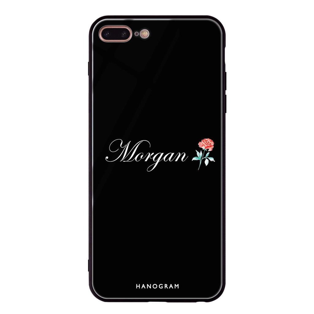 Little Flower iPhone 8 Plus Glass Case