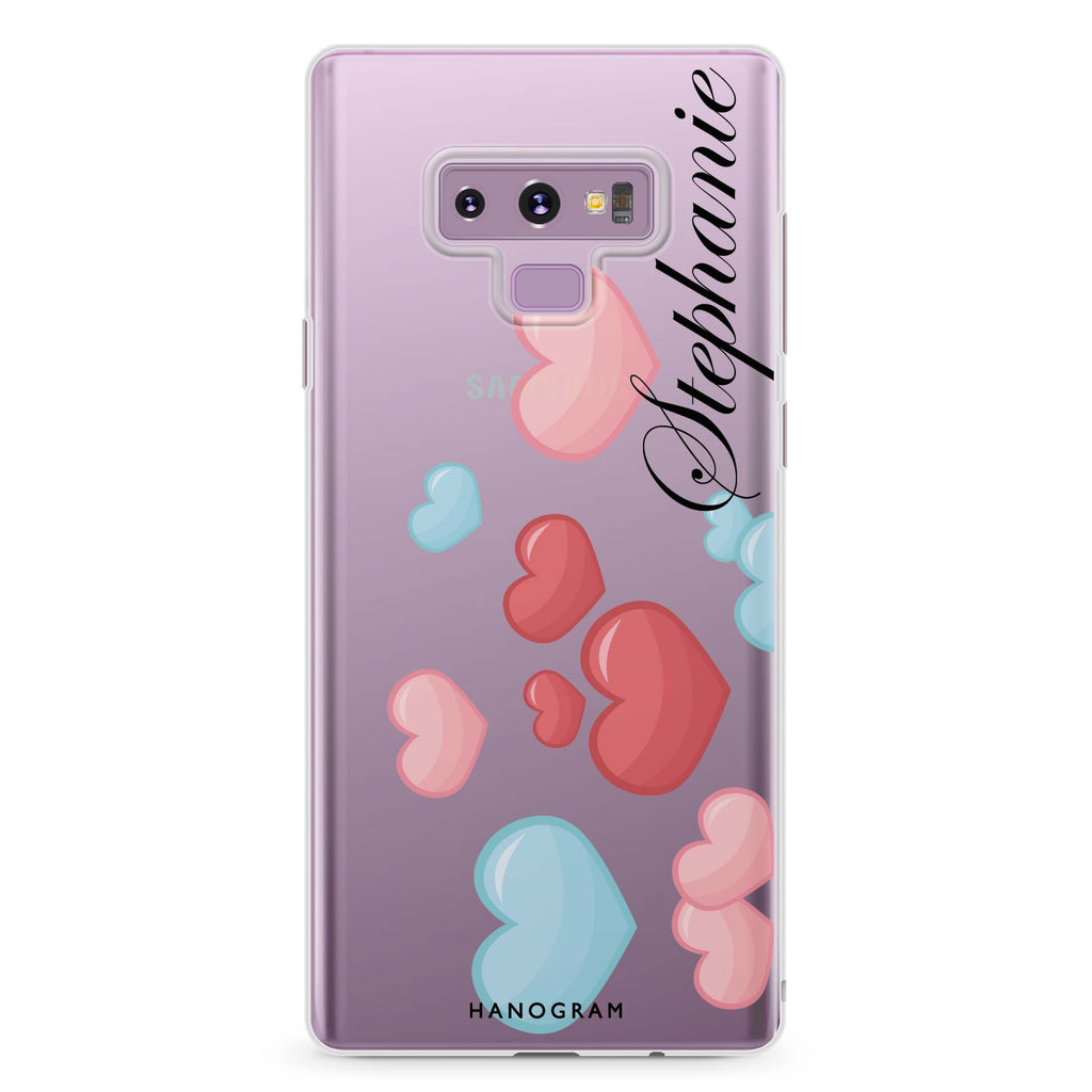 Full Love Samsung Note 9 Soft Clear Case