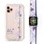 #18-3943 Blue Iris - Frosted Bumper Case and Watch Band