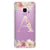 Monogram & Floral Samsung S9 Soft Clear Case