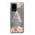 Monogram & Floral Samsung S20 Ultra Soft Clear Case