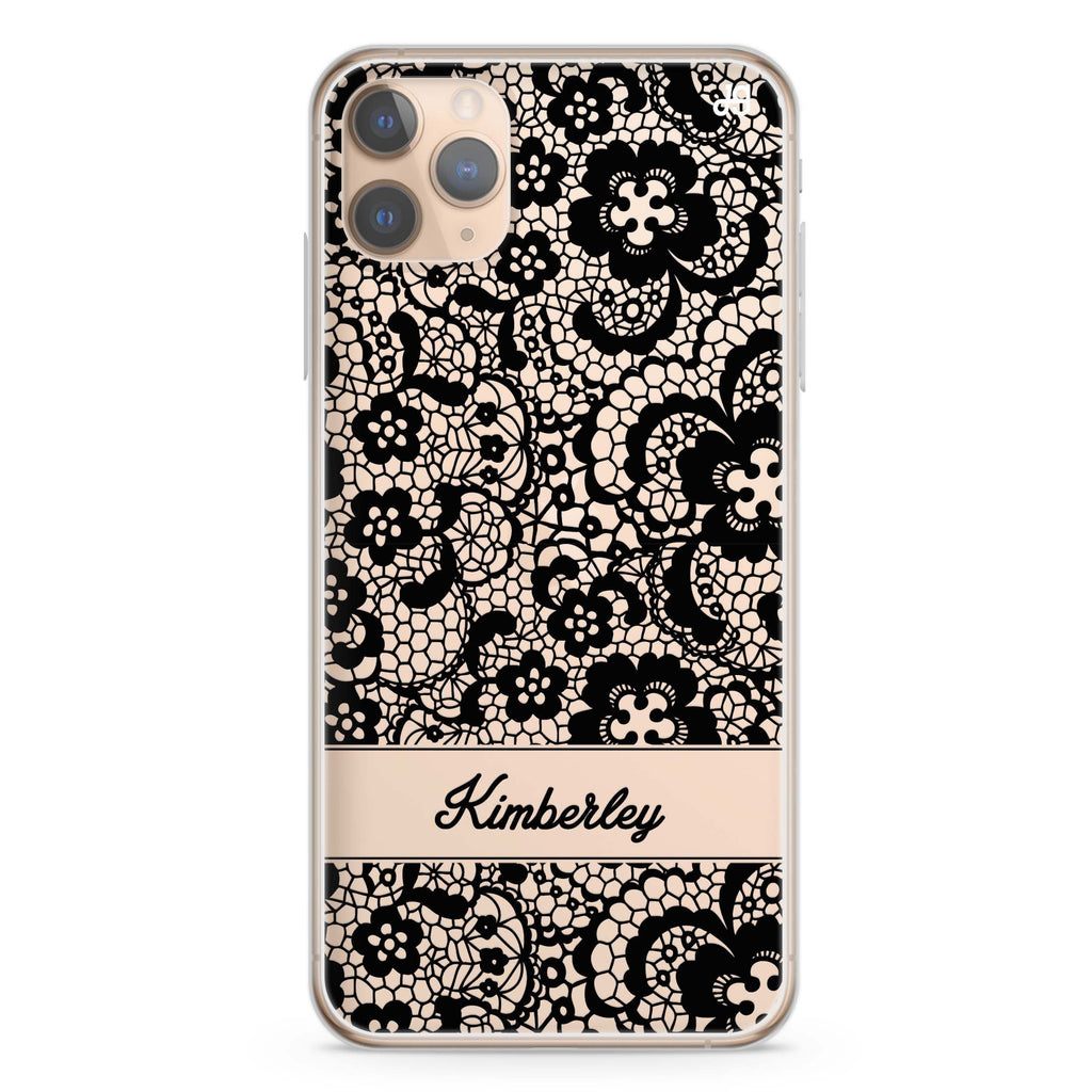 My Lace iPhone 11 Pro Max Soft Clear Case