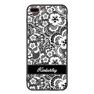 My Lace iPhone 8 Plus Glass Case