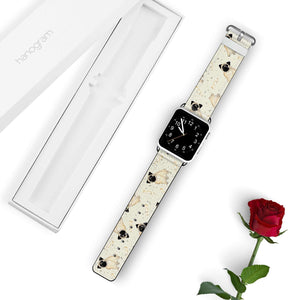 Pug Pattern APPLE WATCH BANDS