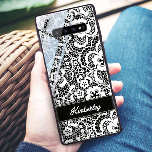 My Lace Samsung S10 Plus Glass Case