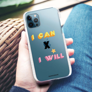 Abstract script writing Custom iPhone X Case