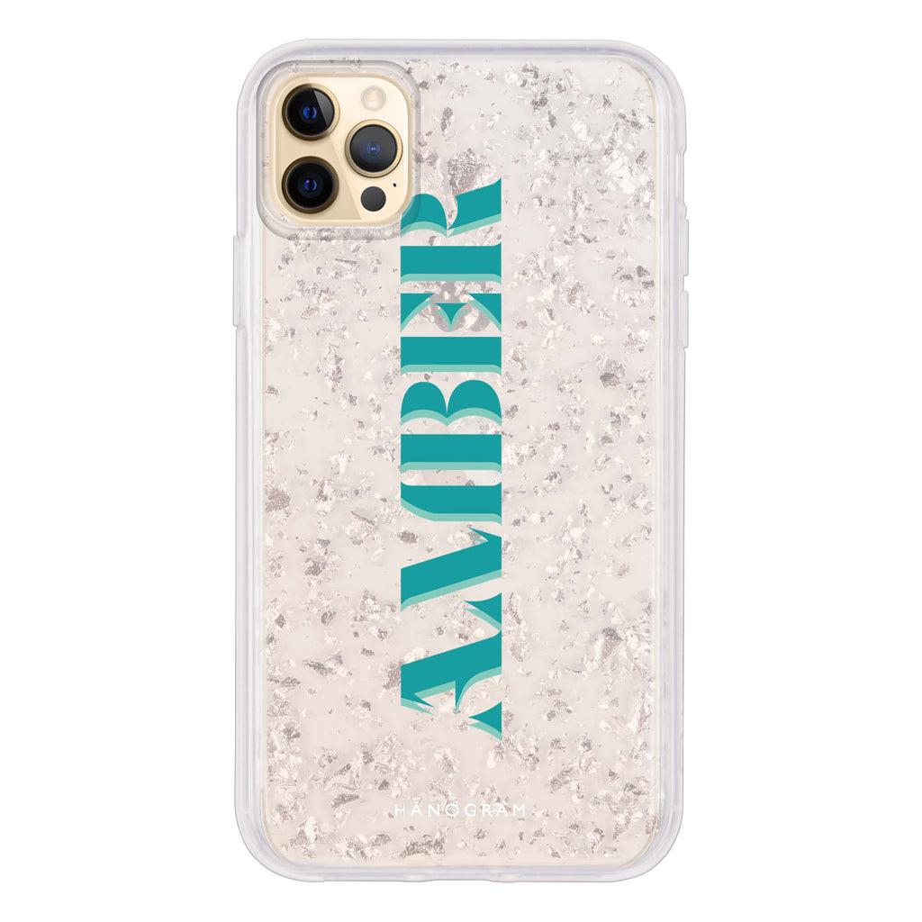 Pesonalized Name XIII Glitter Case