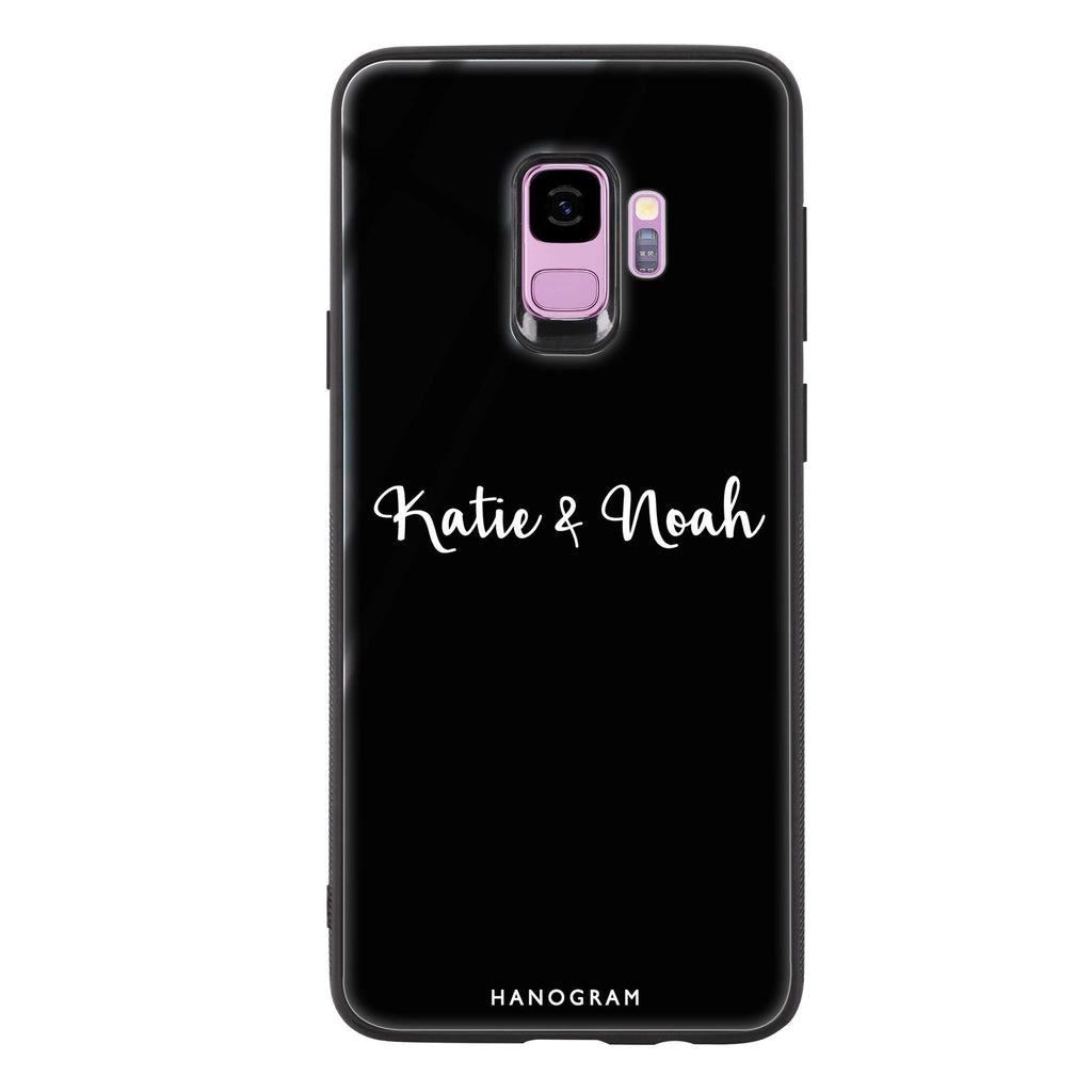 Me & You Samsung S9 Glass Case