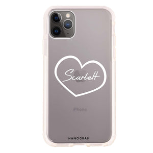 Sweet Heart Frosted Bumper Case