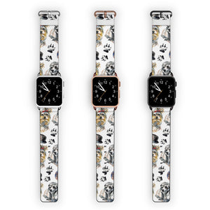 Yorkshire Terrier and Poodle APPLE WATCH BANDS