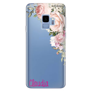 Elegant Rose I Samsung S9 Soft Clear Case