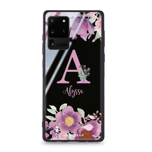 Gorgeous Monogram Samsung Glass Case