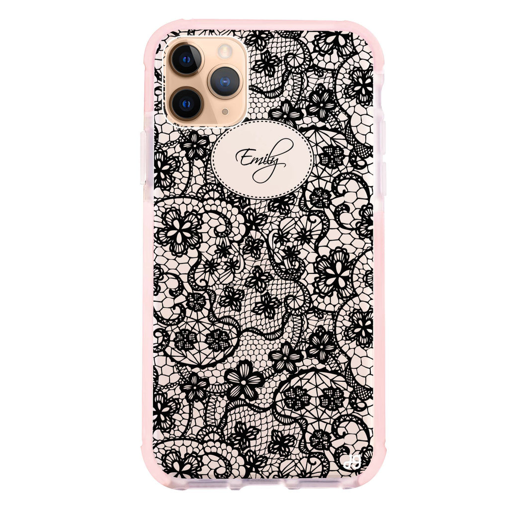 My Floral Lace iPhone 11 Pro Max Shockproof Bumper Case