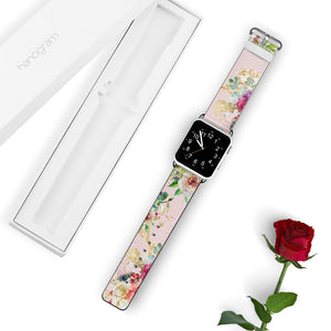 Ice cream floral APPLE WATCH BANDS