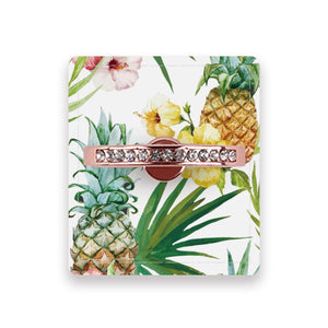 Pineapple & Floral - Ring Stent