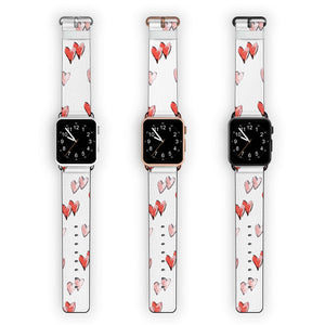 Double Heart APPLE WATCH BANDS