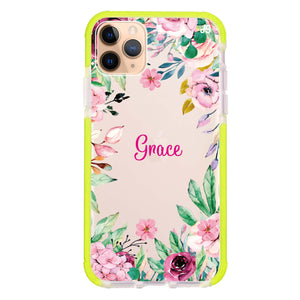 Floral Dream II iPhone 11 Pro Max Frosted Bumper Case