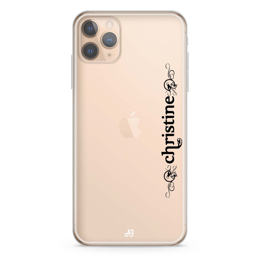 Grand Custom Name iPhone 11 Pro Max Soft Clear Case