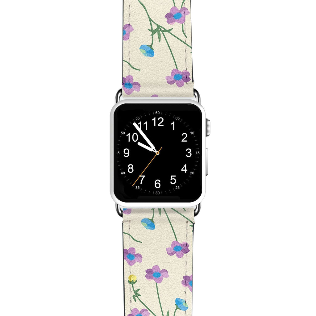 Girly floral APPLE WATCH BANDS