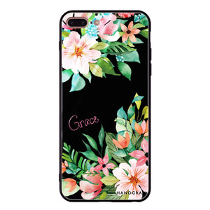 Flower Inspiration iPhone 8 Plus Glass Case