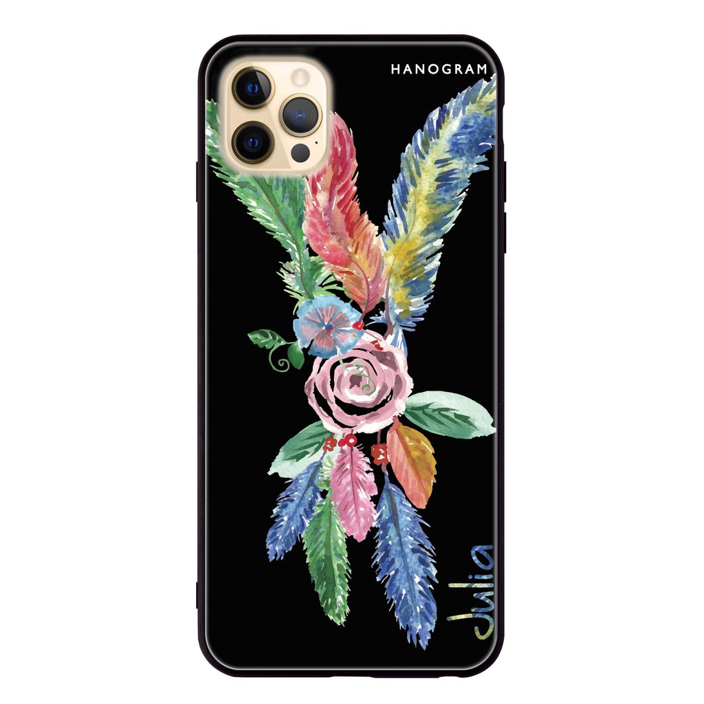 Feather Glass Case