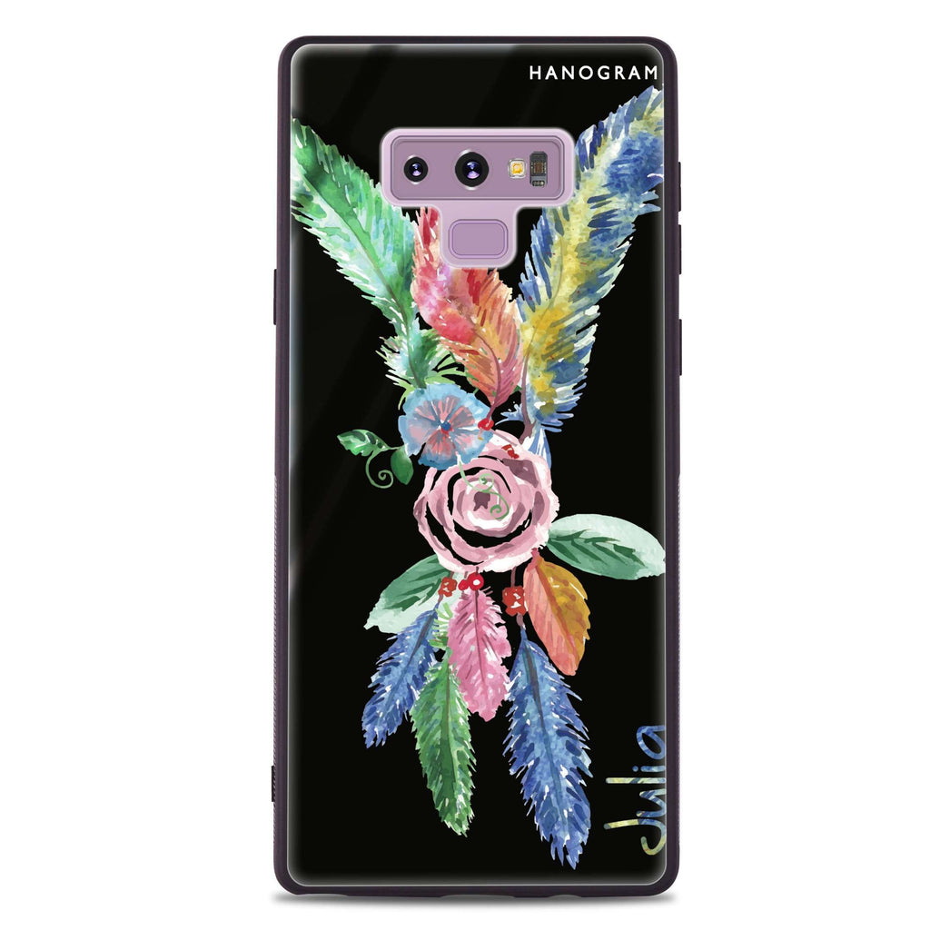 Feather Samsung Note 9 Glass Case