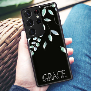 Sticker Custom Name - Custom iPhone 8 Plus Nova Case