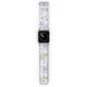 Serene Flowers Pattern - Frosted Bumper Case and Watch Band