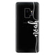 Vertical Script Handwritten Custom Samsung S9 Soft Case