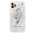 Marble And Exquisite Flowers Shockproof Bumper Case