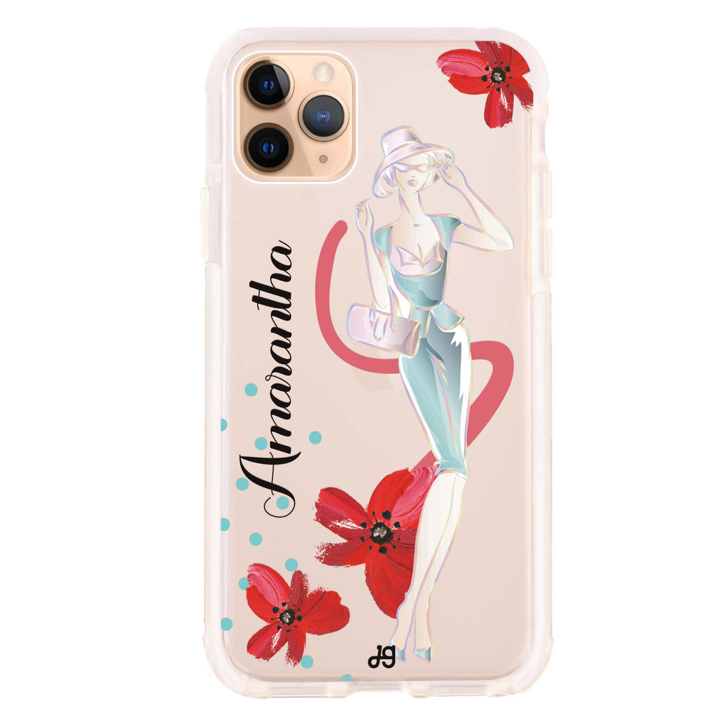 Flower Fashion III iPhone 11 Pro Max Shockproof Bumper Case