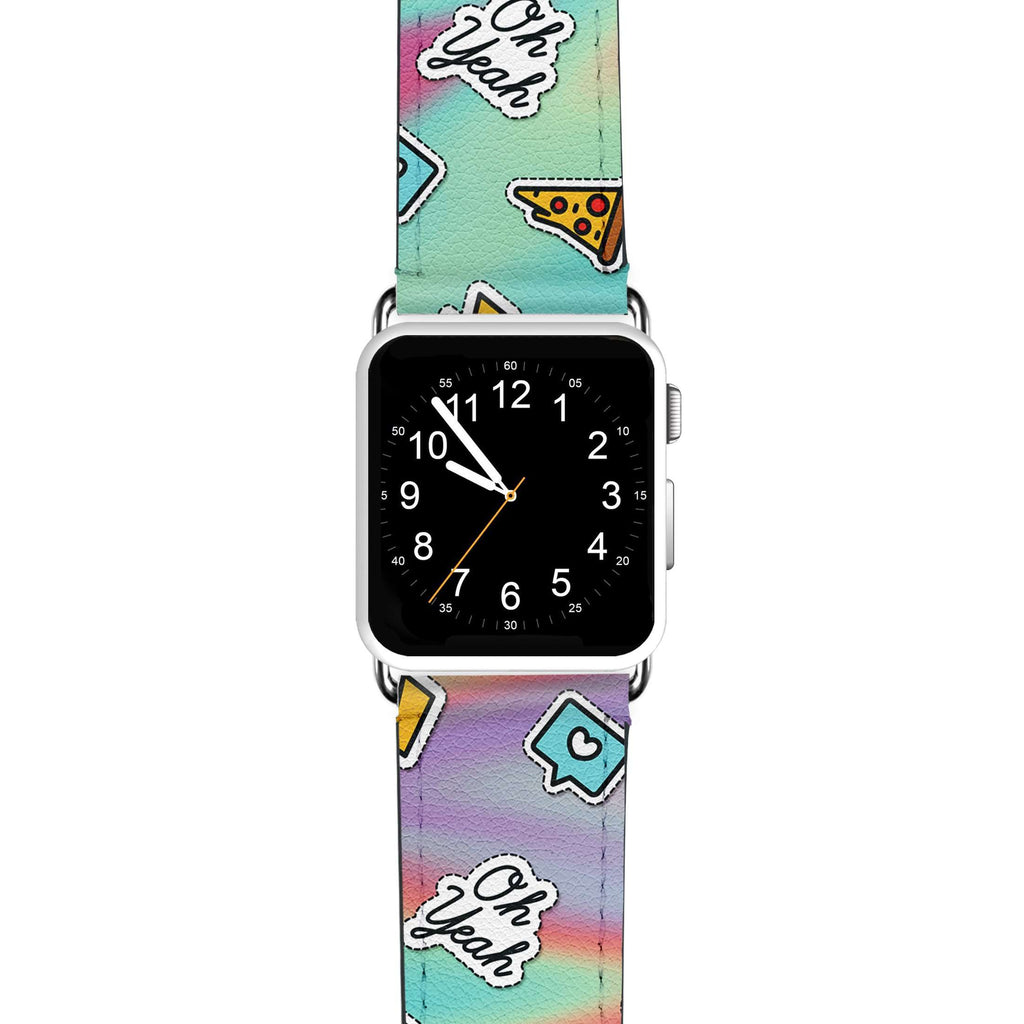 Pizza Sticker APPLE WATCH BANDS
