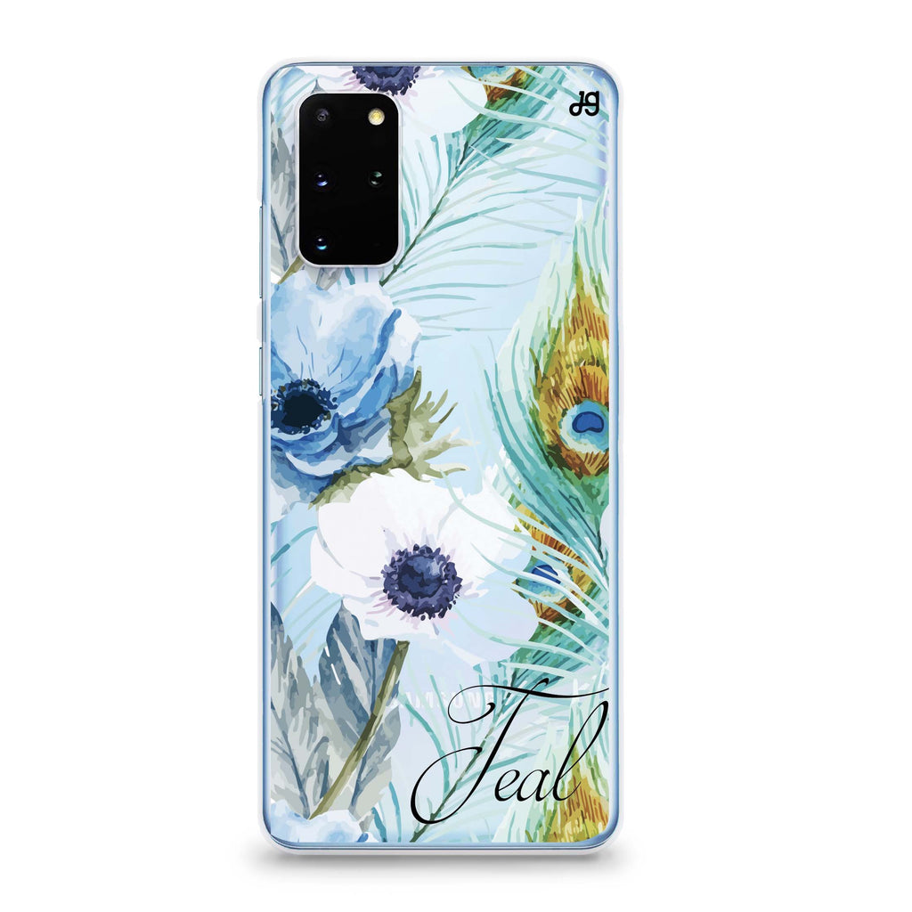 Pretty Watercolor Flowers Samsung S20 Soft Clear Case