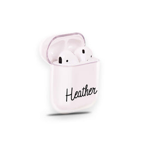 Personalized Name V Airpods Case