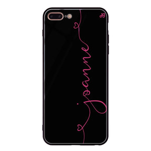 Loving Heart I iPhone 8 Plus Glass Case