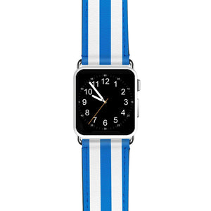 Classic Stripe Blue APPLE WATCH BANDS