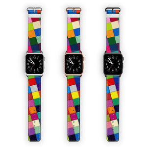 Checkered APPLE WATCH BANDS