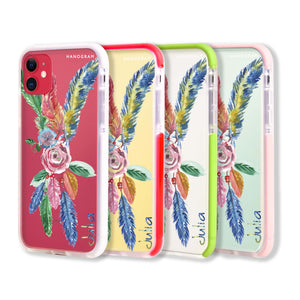 Tropical Watercolor Floral - iPhone XR Case