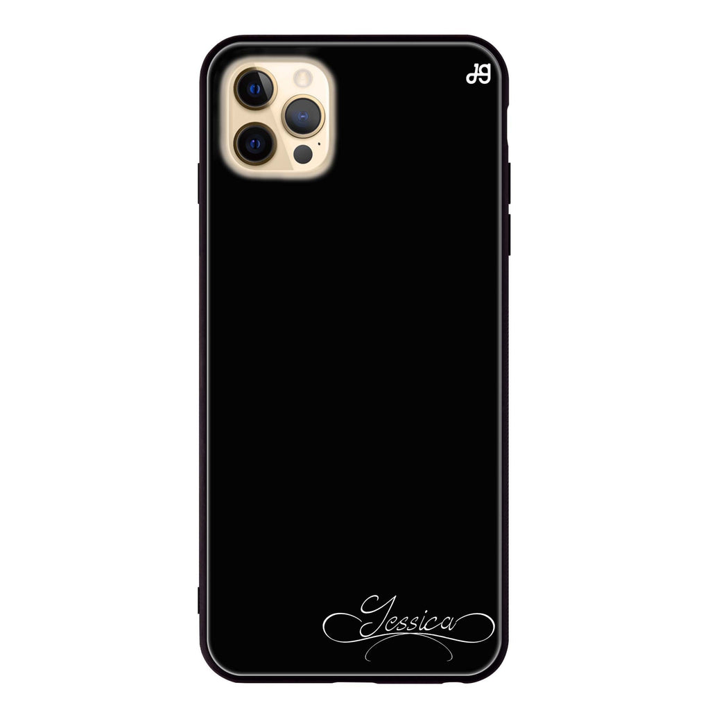 Cursive II Glass Case