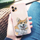 Corgi Frosted Bumper Case